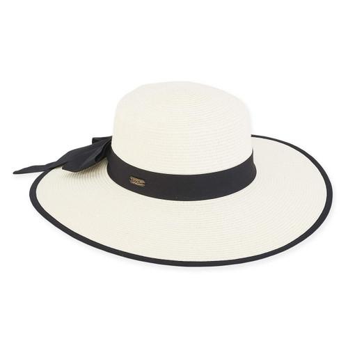 """Adalyn PAPERBRAID HAT, BRIM 4"""""""
