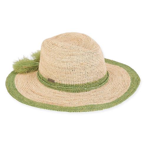 ALISHA PAPERBRAID HAT