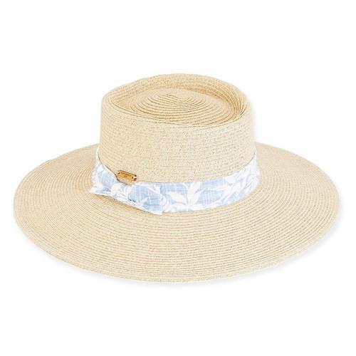 ABIGAIL PAPERBRAID HAT