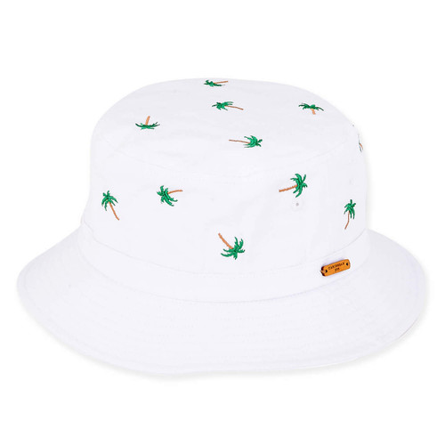 LUCAS EMBROIDERED PALM TREES