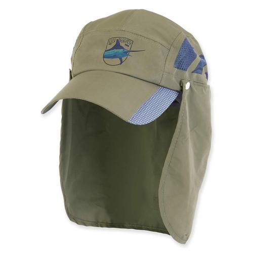 GUY HARVEY BREATHABLE NYLON CAP W/ TUCK AWAY NECK COVER