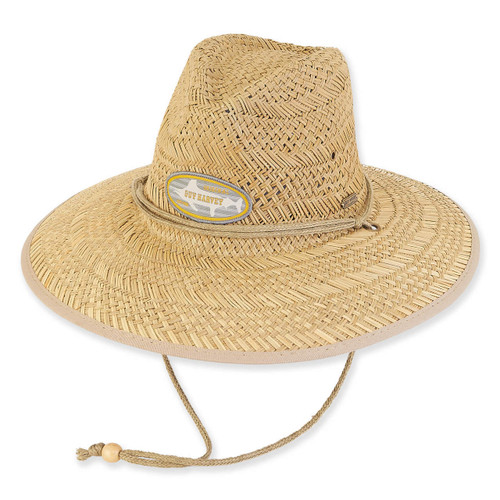 GUY HARVEY RUSH STRAW HAT W/SIGN PATCH
