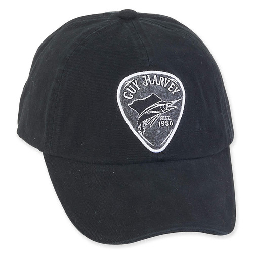 GUY HARVEY COTTON CAP WITH SIGNATURE ICON CLASSIC 1986 PATCH