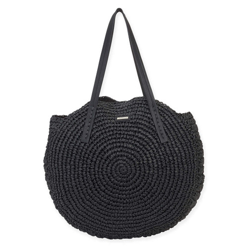 SASHIA SHOULDER TOTE WITH MAGNETIC SNAP