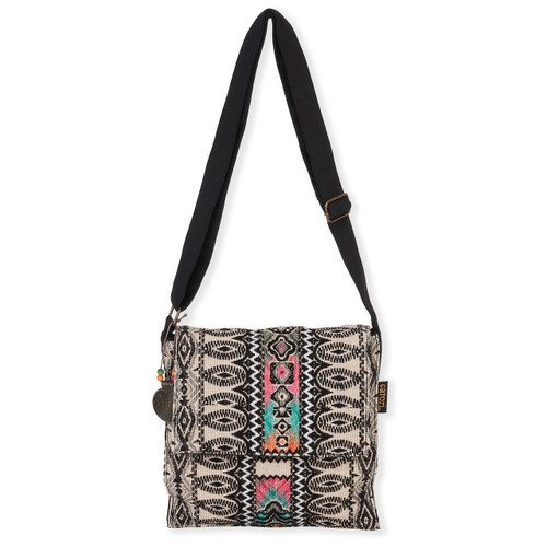 "ZAIDEN FLAP OVER CROSSBODY | 11"" x 10"""