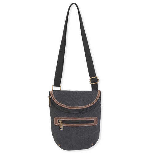 "DERBY CROSSBODY COTTO CANVAS | 8.75""x 2""x 11.5"""