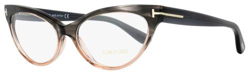 Tom Ford Cateye Eyeglasses TF5317 020 Size: 54mm Gray Melange/Peach FT5317