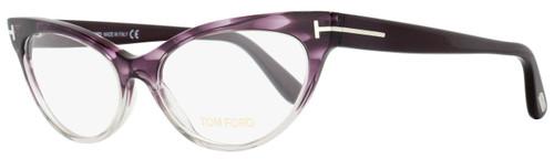 Tom Ford Cateye Eyeglasses TF5317 083 Size: 54mm Violet Melange/Gray FT5317