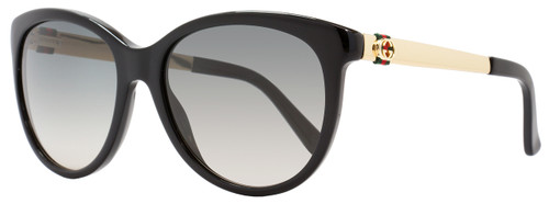 Gucci Oval Sunglasses GG3784S ANWDX Black/Gold 3784