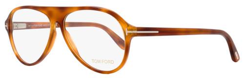 Tom Ford Oval Eyeglasses TF5319 053 Size: 56mm Blonde Havana FT5319
