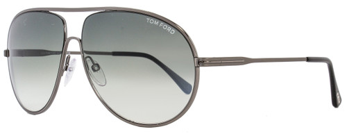 Tom Ford Aviator Sunglasses TF450 Cliff 09B Gunmetal/Black FT0450