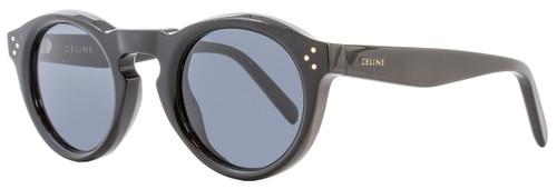 Celine Oval Sunglasses CL41370S 807G8 Black 41370