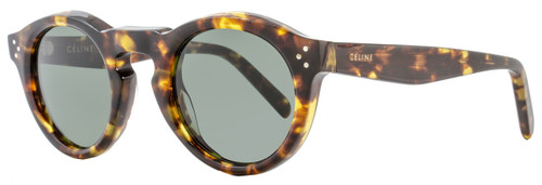 Celine Oval Sunglasses CL41370S E8885 Blonde Tortoise 41370