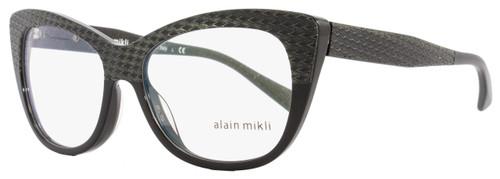 Alain Mikli Cateye Eyeglasses A01346M B0J2 Size: 52mm Black 1346M