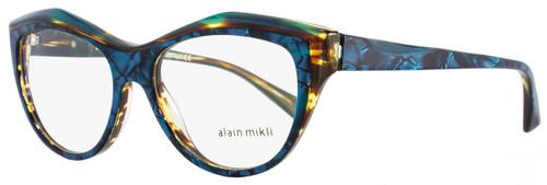 Alain Mikli Butterfly Eyeglasses A03041 C004 Size: 52mm Acqua Melange 3041