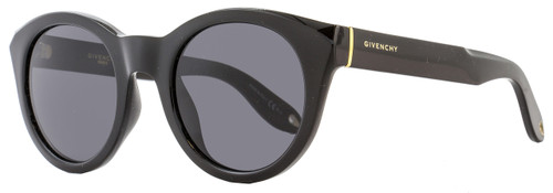 Givenchy Round Sunglasses GV7003/S D28E5 Shiny Black 7003