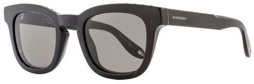 Givenchy Square Sunglasses GV7006/S 807NR Shiny Black 7006