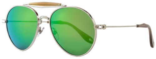 Givenchy Aviator Sunglasses GV7012/S 010Z9 Palladium/Opal 7012