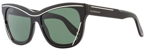 Givenchy Rectangular Sunglasses GV7028/S 80785 Shiny Black 7028