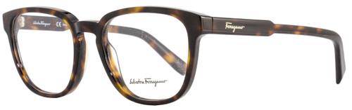 Salvatore Ferragamo Oval Eyeglasses SF2752 214 Size: 52mm Havana 2752