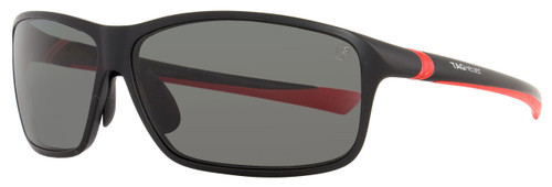 Tag Heuer Sport Sunglasses TH6024 27° 902 Matte Black/Red Polarized 6024