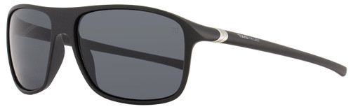 Tag Heuer Square Sunglasses TH6041 27° 101 Matte Black 6041