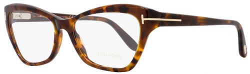 Tom Ford Butterfly Eyeglasses TF5376 052 Size: 54mm Vintage Havana/Gold FT5376