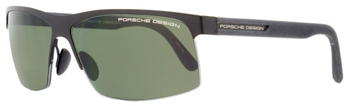 Porsche Design Wrap Sunglasses P8561 C Matte Black 8561