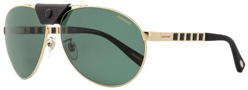 Chopard Aviator Sunglasses SCHB33 300P Rose Gold/Black Polarized B33