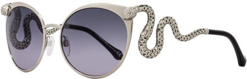 Roberto Cavalli Cateye Sunglasses RC890S Menkalinan 16B Palladium/Black 890