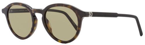 Montblanc Oval Sunglasses MB608S 52J Havana/Black 608