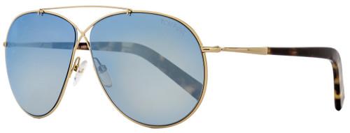 Tom Ford Aviator Sunglasses TF374 Eva 28X Rose Gold/Tortoise FT0374