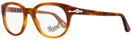 Persol Round Eyeglasses PO3052V 96 Size: 50mm Light Havana 3052