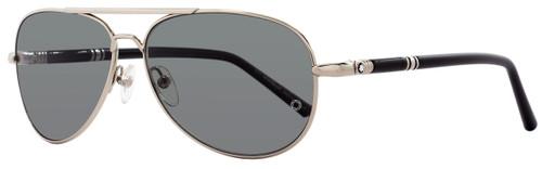 Montblanc Aviator Sunglasses MB509S 16D Palladium/Black Polarized 509