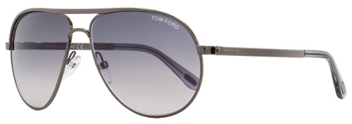 Tom Ford Aviator Sunglasses TF144 Marko 08B Dark Gunmetal FT0144