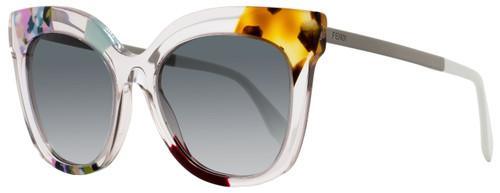 Fendi Square Sunglasses FF0179S TKUJJ Pink/Ruthenium 179