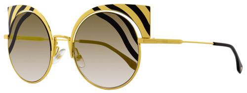 Fendi Round Sunglasses FF0215S 1KQFQ Gold 215