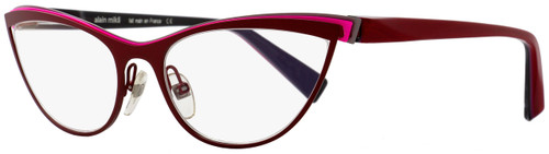 Alain Mikli Cateye Eyeglasses A02003 M0JX Size: 56mm Red/Pink/Gray 2003