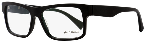Alain Mikli Rectangular Eyeglasses A03046 1026 Size: 57mm Black Pearlescent 3046