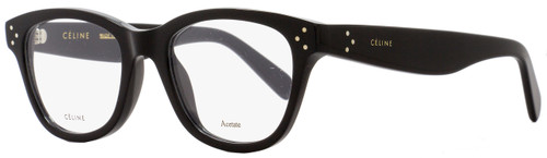 Celine Oval Eyeglasses CL41409 807 Size: 49mm Black 41409