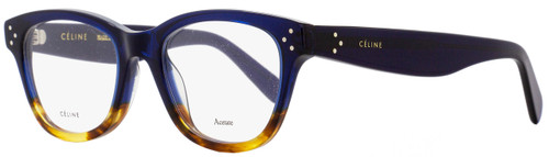 Celine Oval Eyeglasses CL41409 QLT Size: 49mm Blue/Havana 41409