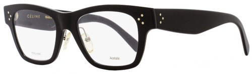 Celine Rectangular Eyeglasses CL41428 06Z Size: 49mm Black 41428
