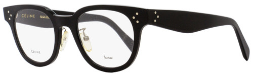 Celine Oval Eyeglasses CL41459 807 Size: 47mm Black 41459