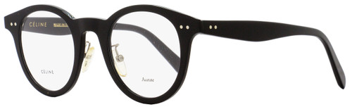 Celine Oval Eyeglasses CL41463 807 Size: 45mm Black 41463