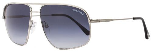 Tom Ford Square Sunglasses TF467 Justin 17W Palldium/Black FT0467