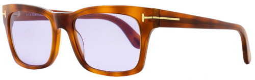 Tom Ford Rectangular Sunglasses TF494 Frederik 53Y Blonde Havana FT0494