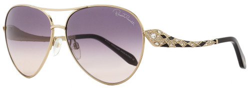 Roberto Cavalli Aviator Sunglasses RC920S-A Muphird 28B Gold/Black 920