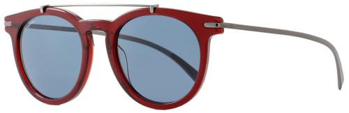 Salvatore Ferragamo Oval Sunglasses SF821S 613 Red 821