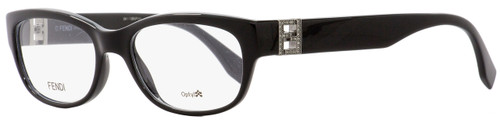 Fendi Oval Eyeglasses FF0048 D28 Black 52mm 048