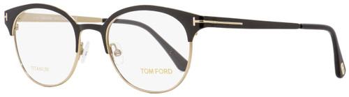 Tom Ford Oval Eyeglasses TF5382 005 Black 50mm FT5382
